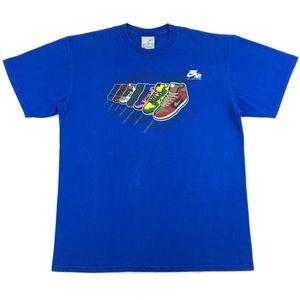 Vintage Nike Dunk 'Jam 7 Days A Week' Men's Shirt